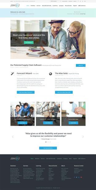 John Galt website design