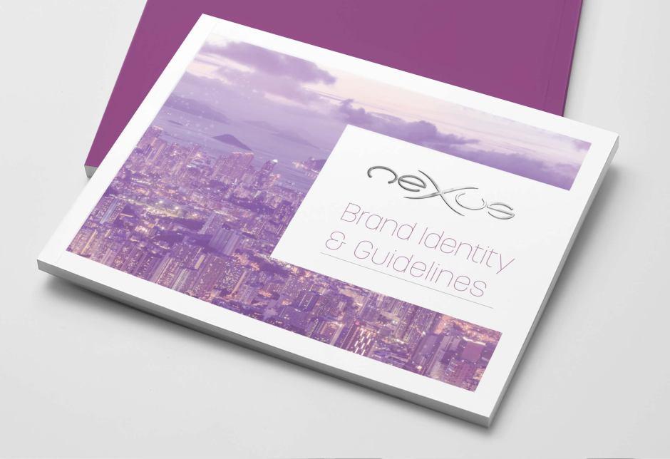 Nexus Brand Guidelines mock up