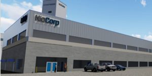 CAD Drawing of one of NioCorp's planned surface facilities in the Elk Creek Superalloy Materials Project.