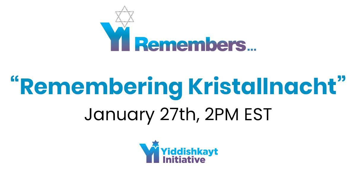 Remembering Kristallnacht