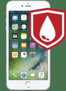 iPhone 6s plus Liquid Damage