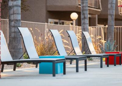 Modern pool chairs