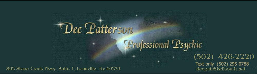 Dee Patterson Professional Psychic & Medium
