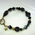 Black Multi-Bead Bracelet