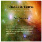 Uranus in Taurus CD