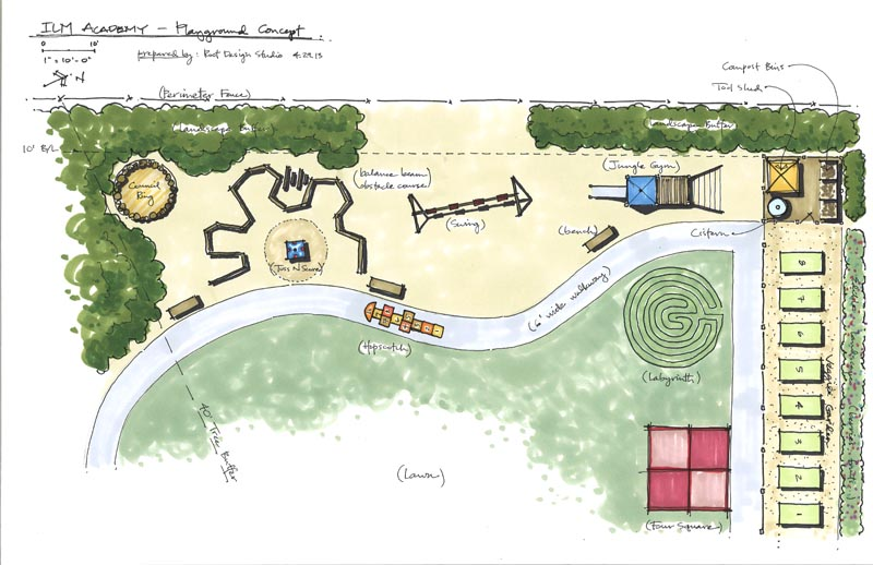 ILM Academy - playground concept