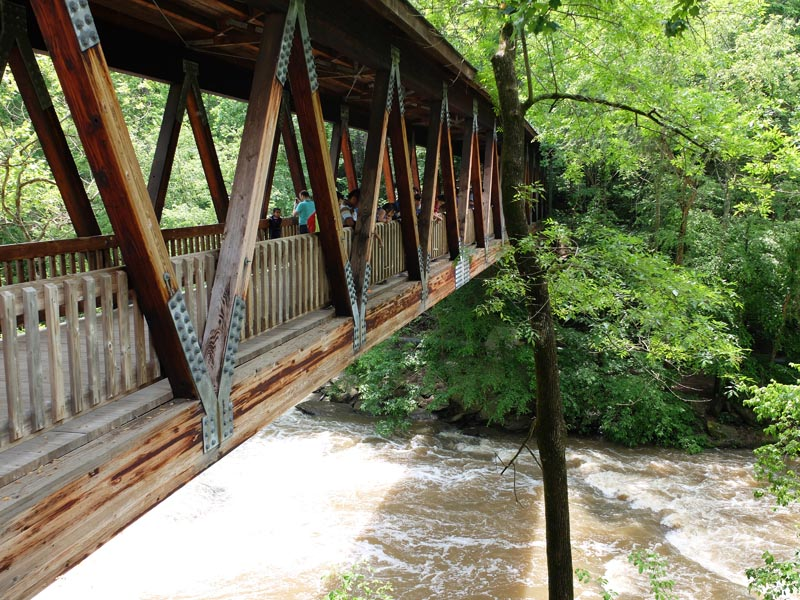 Vickery Creek Bridge - 3