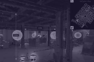 screenshot of 3D laser scanner point cloud data