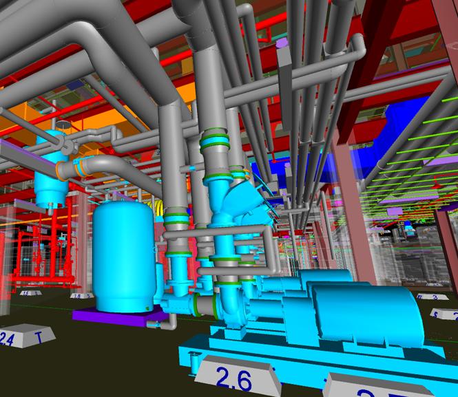 BIM Model of Mechanical Room
