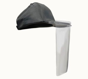 Baseball Cap Face Shield
