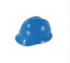 Blue MSA V Hard Hat