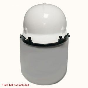 Bump cap face shield