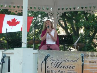 Inspirational Music at Gage Park Brampton