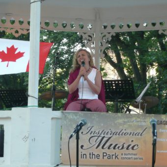 Inspirational Music at Brampton's Gage Park July 6, 2021