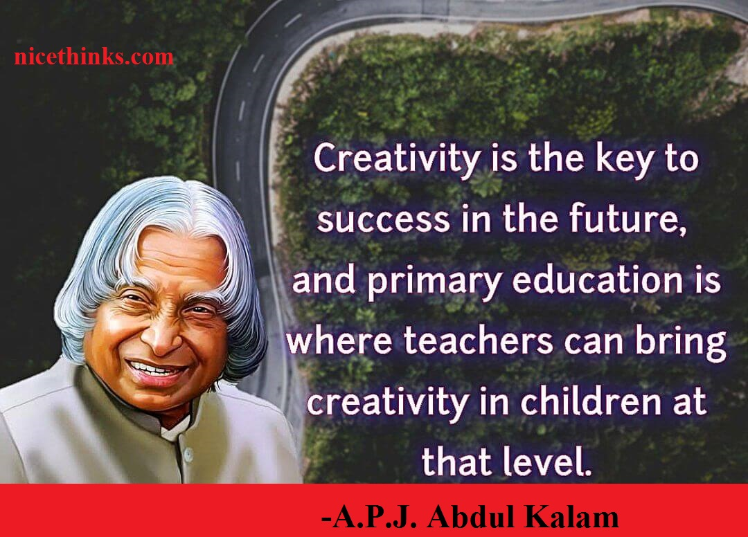 A P J Abdul Kalam Quotes For Students