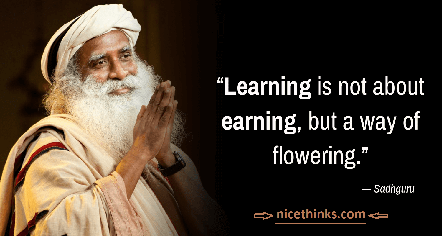 Inspirational Sadhguru Quotes