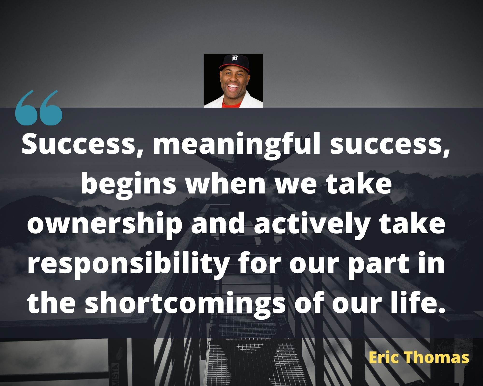 eric thomas quotes about success