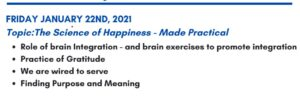 The Science of Happiness - Made Practical @ Renovare Wellness by Design