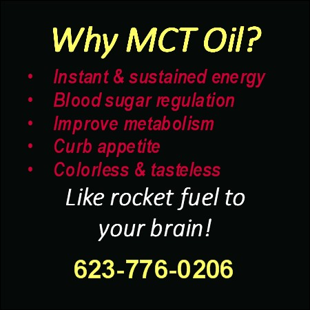 MCT (Medium Chain Triglycerides) Oil Concentrate
