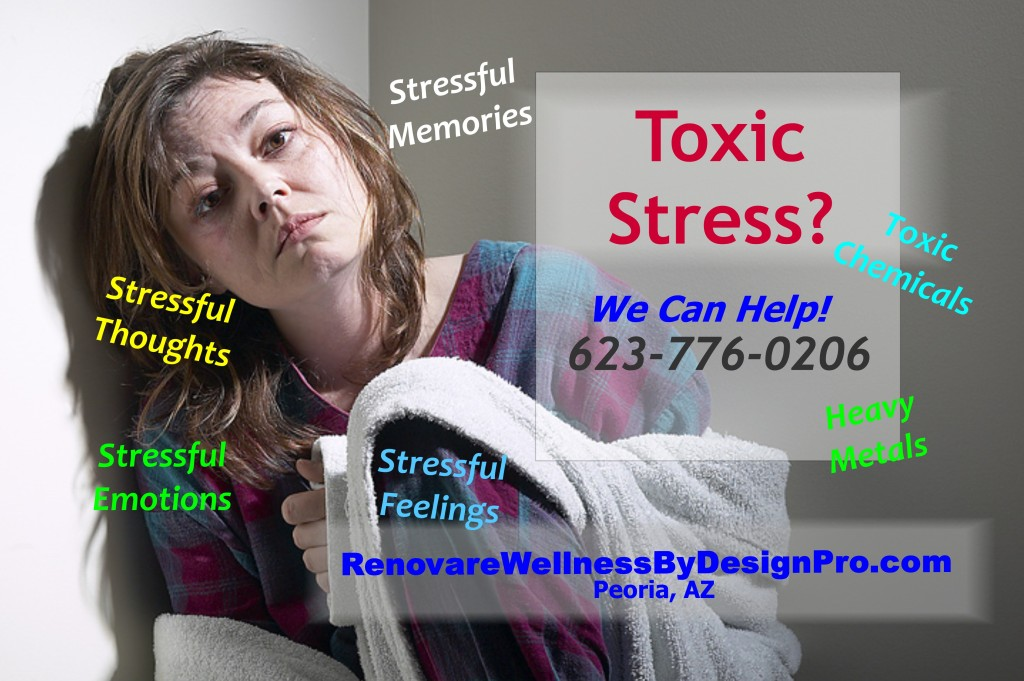 toxic stress depression anxiety memory loss health and wellness center