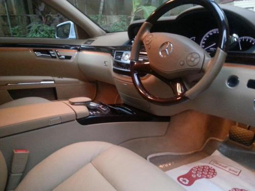Mercedes Upholstery cleaning