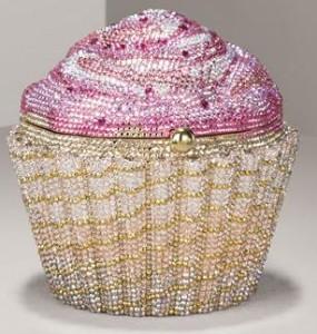 Judith Leiber limited editon strawberry cupcake clutch