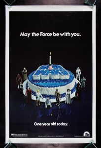 Star Wars Happy Birthday One Sheet