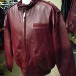 Men's Snap Collar Bomber Jacket