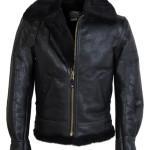 Classic B-3 Sheepskin Leather Bomber Jacket