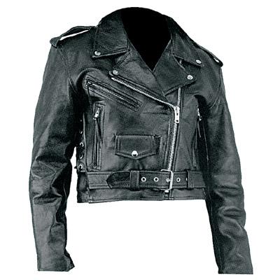 Women's Cowhide Leather Jacket