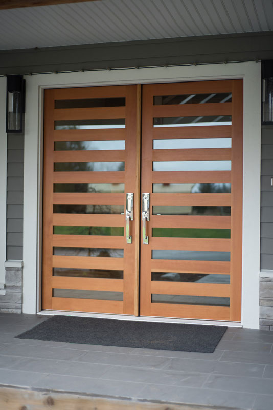 Custom fir front door