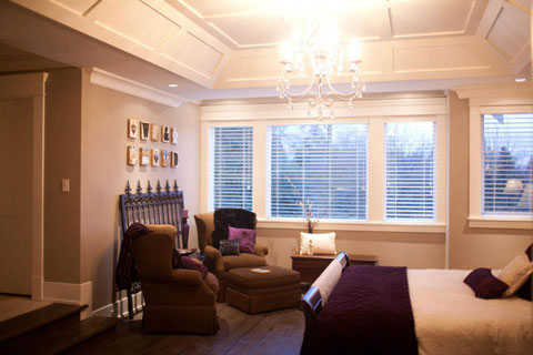 Sitting area in Master Bedroom