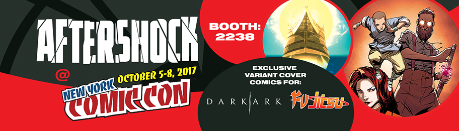 AfterShock at New York Comic Con 2017