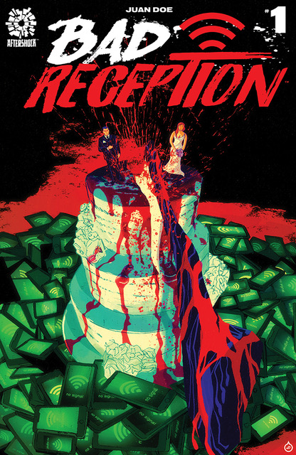 "The Hollywood Reporter: Horror Comic ""Bad Reception"" Combines Murder and Smartphone Addiction"