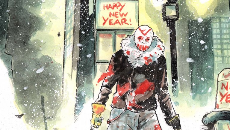 How a Former 'Daily Show' Writer Crafted a Slasher Comic