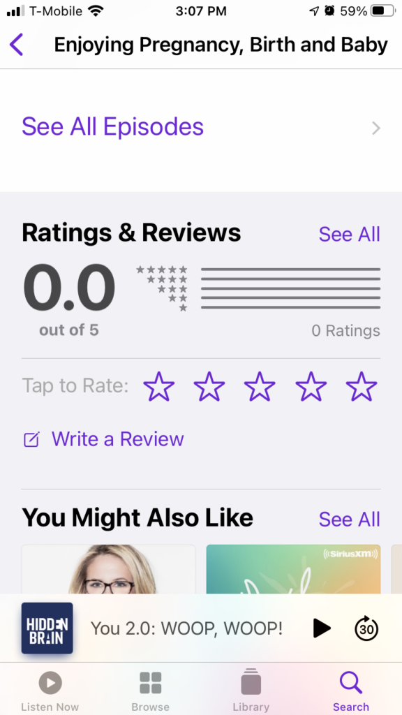 how to rate podcast