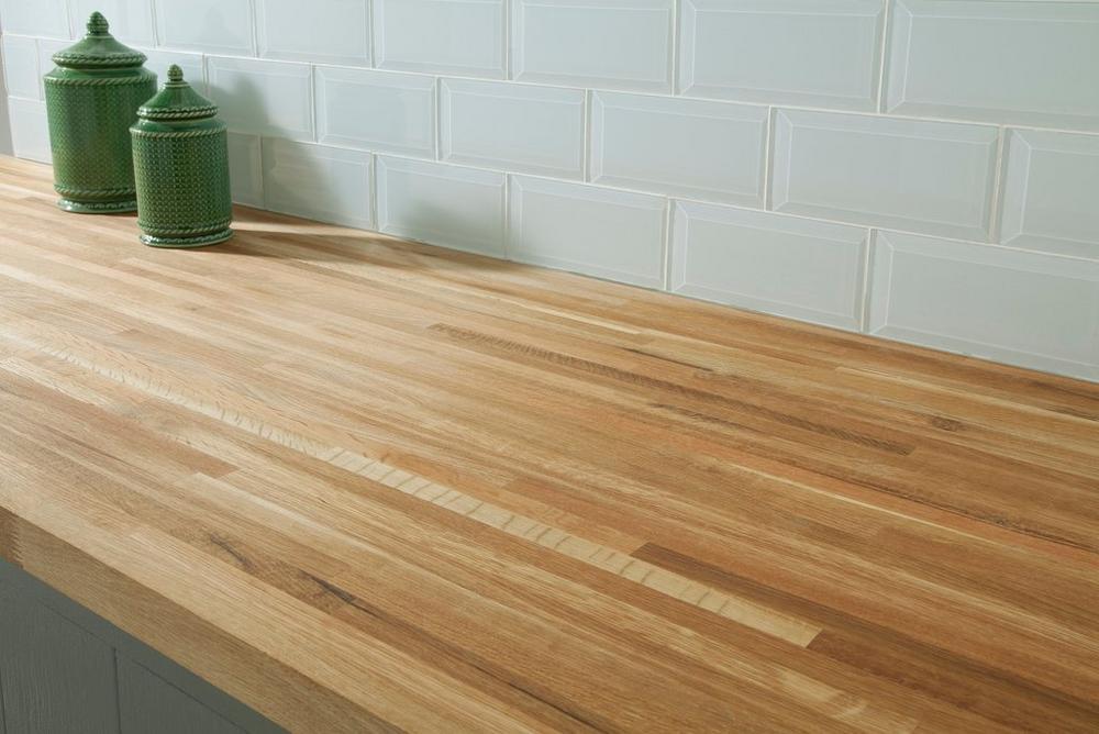 100020619 white oak butcher block countertop 8ft kitchen countertop room