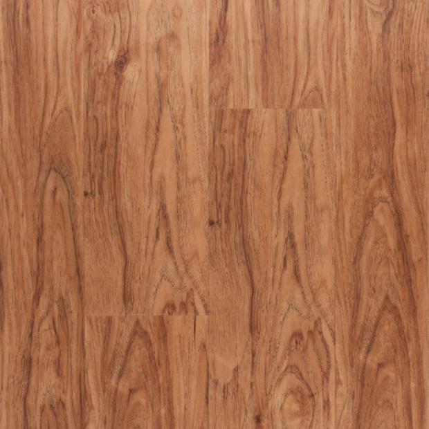 100109776 sunset hickory rigid core luxury vinyl plank  cork back display