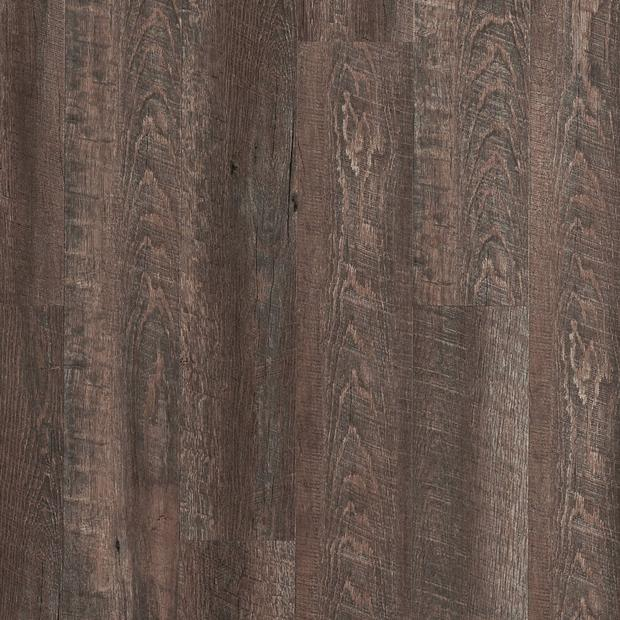 100109784 ashen oak rigid core luxury vinyl plank  cork back display