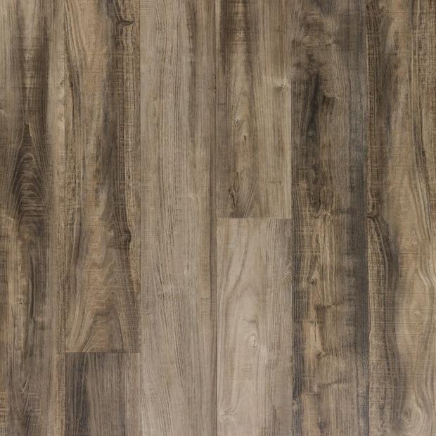 100376789 ombre gray rigid core luxury vinyl plank  cork back display