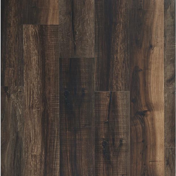 100376821 mixed mocha rigid core luxury vinyl plank  cork back display