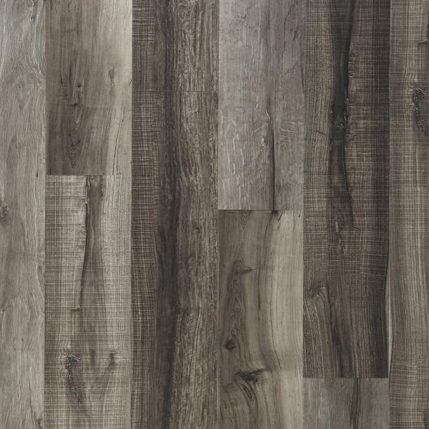 100376847 mixed gray rigid core luxury vinyl plank  cork back display