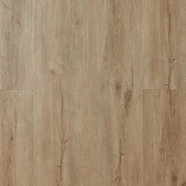 100376946 gray blonde rigid core luxury vinyl plank  cork back display