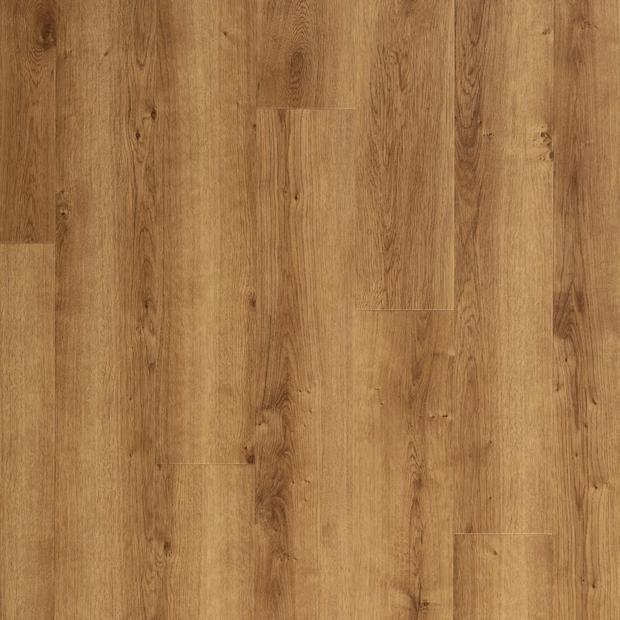 100378868 blonde oak rigid core luxury vinyl plank  cork back display