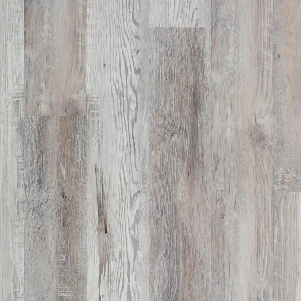 100487180 highland gray rigid core luxury vinyl plank  foam back display