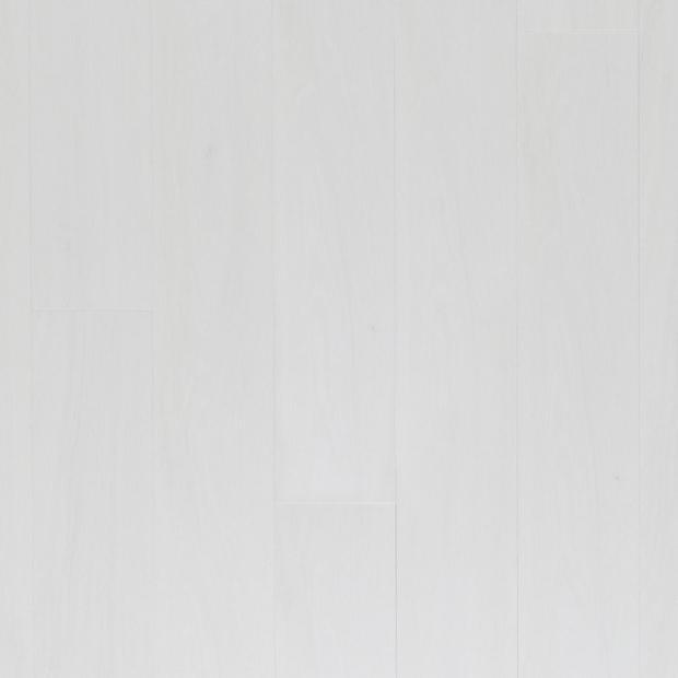 100494392 white high gloss rigid core luxury vinyl plank  cork back display
