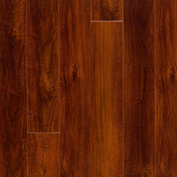 100494426 mahogany high gloss rigid core luxury vinyl plank cork back display