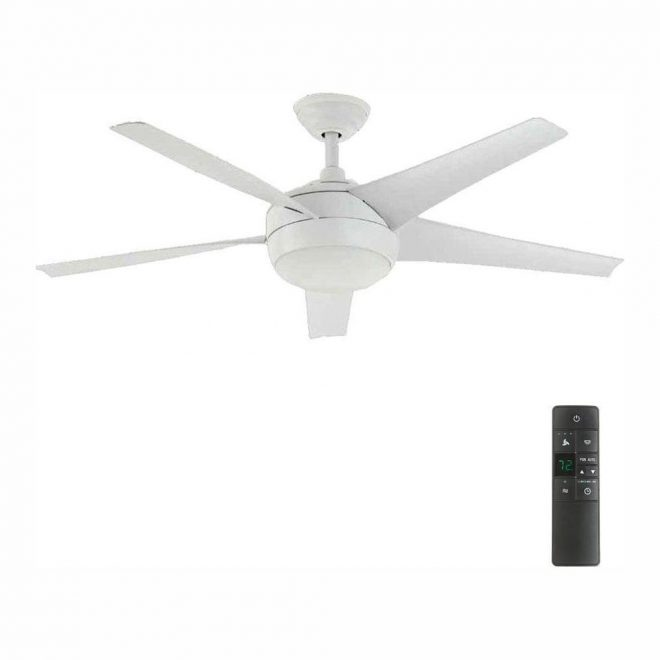 matte white home decorators collection ceiling fans with lights 26662 64_1000