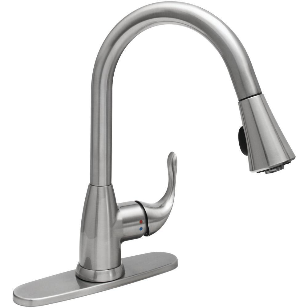 stainless steel glacier bay pull down faucets hd67551 1208d2 64_1000