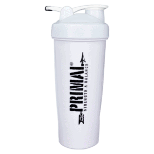 White Primal Shaker Bottle